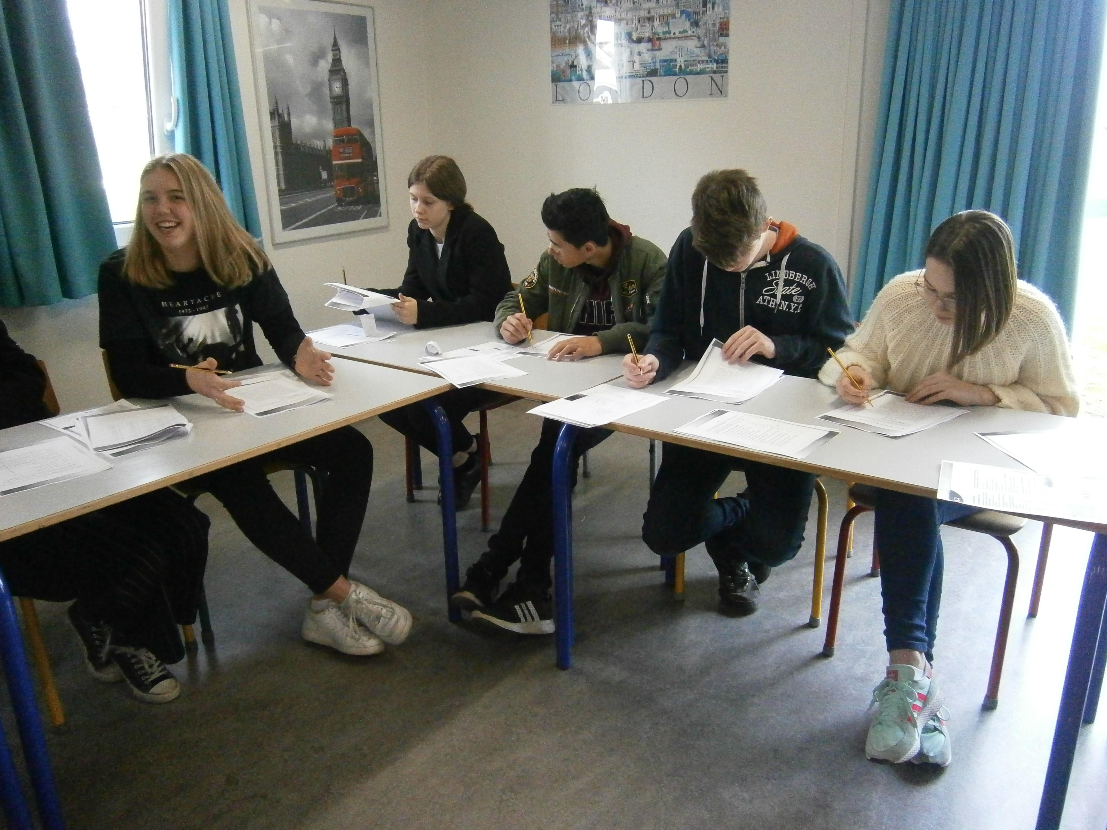 Efterskole Camp Cambridge test